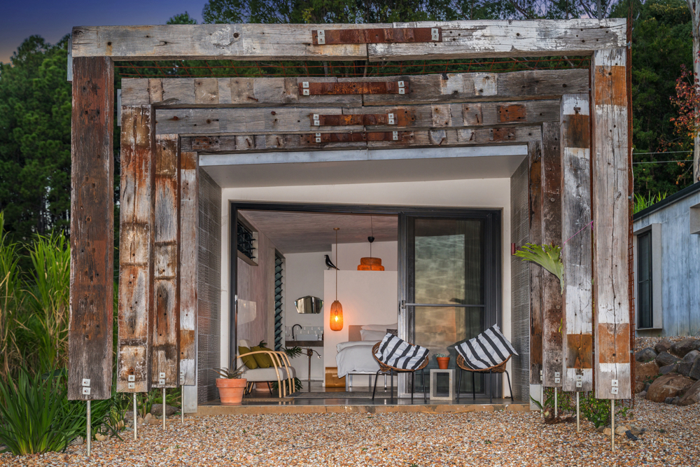 Byron Luxury Hinterland Accommodation pavilion