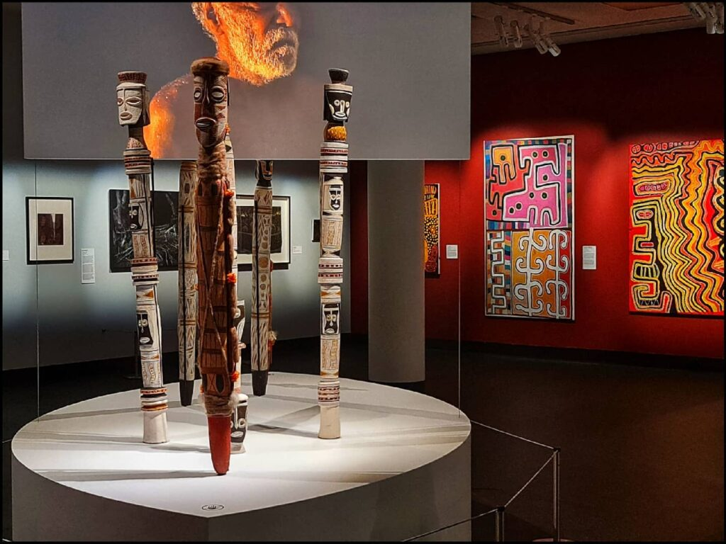 Ninbella, a gallery featuring local Indigenous art in Bangalow