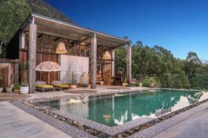 Byron Luxury Hinterland Accommodation rain forest