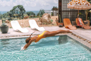 Byron Luxury Hinterland Accommodation pool